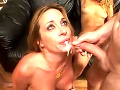 Midgets fucking a hot girl after the party